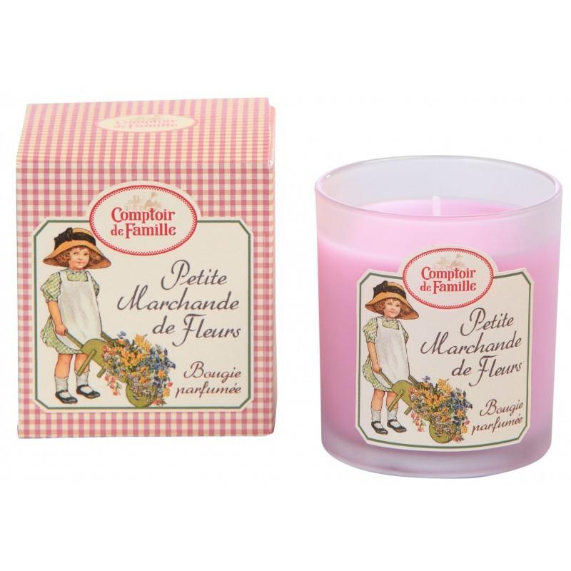 Bougie parfumée petite marchande de fleurs