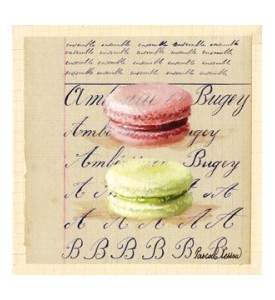 Toile sur chassis macarons