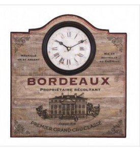 Pendule Bordeaux vintage