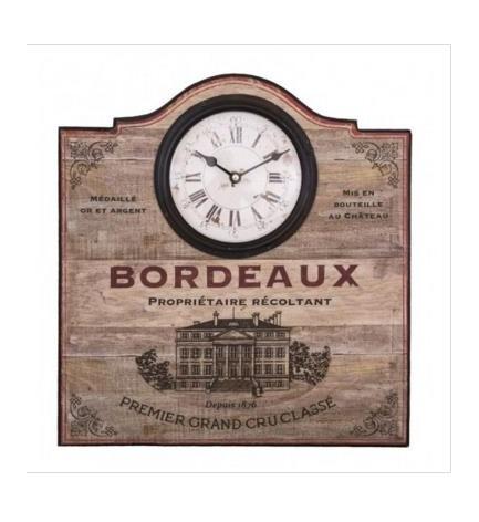 "Pendule ""Bordeaux"""