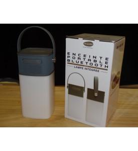 Enceinte portable bluetooth avec lampe intégrée