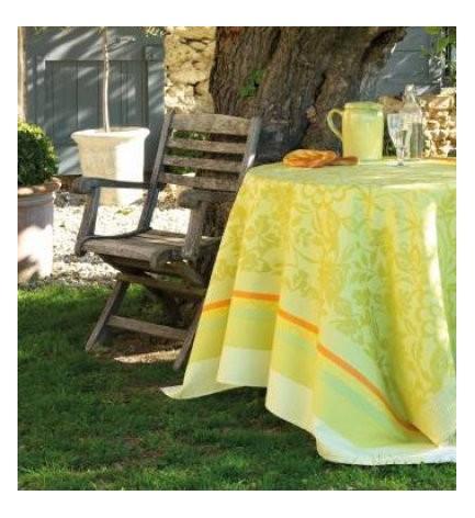 Nappe Provence Citron Vert