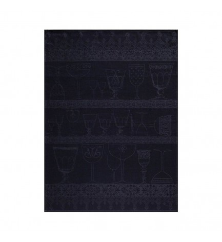 Torchon Essuie-Verre Cristal Ardoise