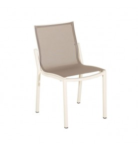 Chaise de jardin empilable Curvillis