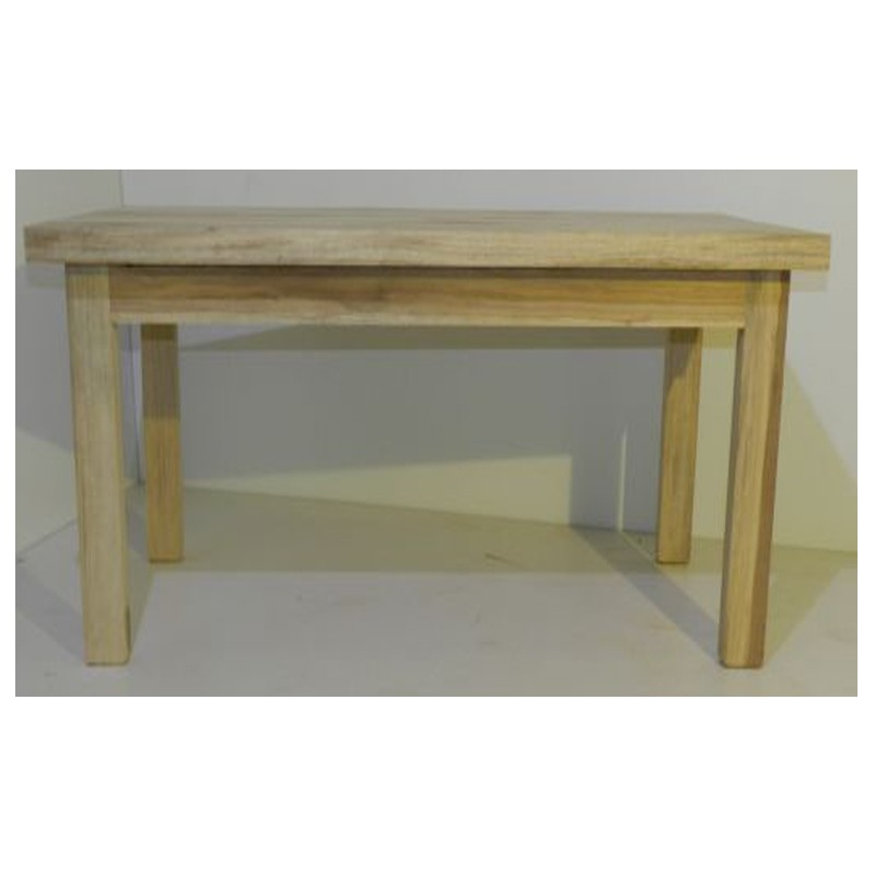 Table haute en bois naturel mod le resto table de qualit pour la cuisine for Modele table a manger en bois