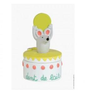 Boîte à dents de lait souris piece