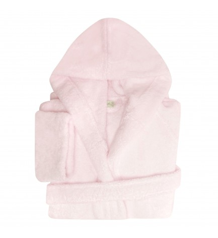 Peignoir capuche junior pétale