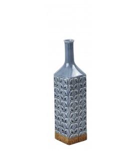 Vase pattern blue rustic