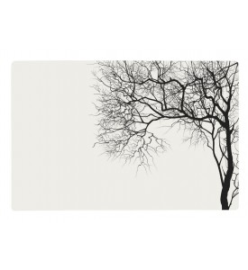 Lot de 2 sets de table motif arbre