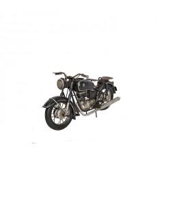 Moto noire deux selles