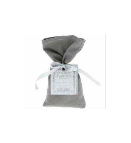 Pochon parfumé tissus gris