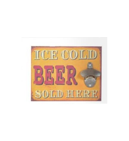 Décapsuleur mural Beer