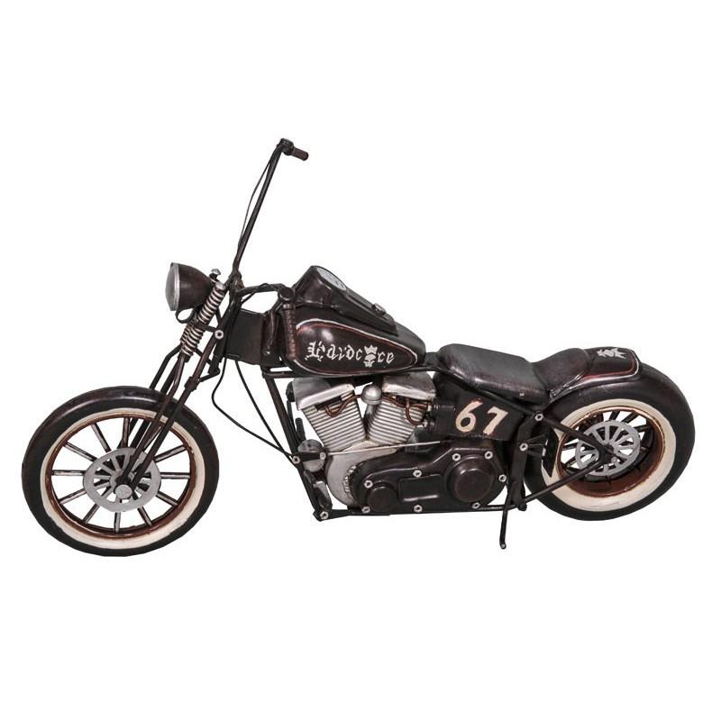 Harley avec Ape hanger