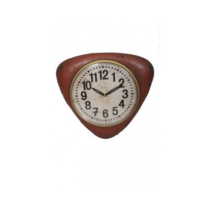 Pendule vintage rouge