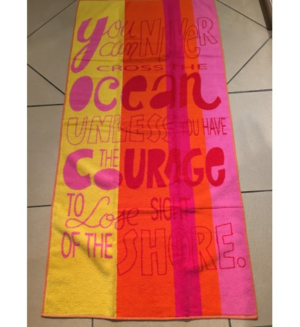 Drap de plage enfant Cross the ocean