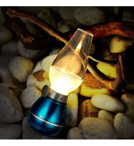 Lampe à pétrole à LED