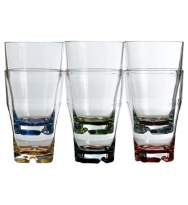 Lot de 6 verres à orangeade