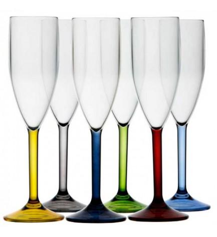 Lot de 6 flûtes à champagne