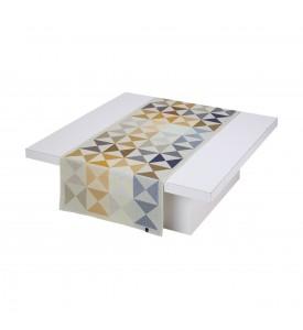 Chemin de table Origami polychrome