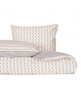 Housse de couette Domino or