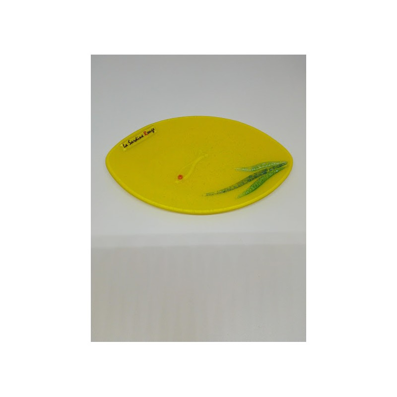 Porte savon Algues jaune