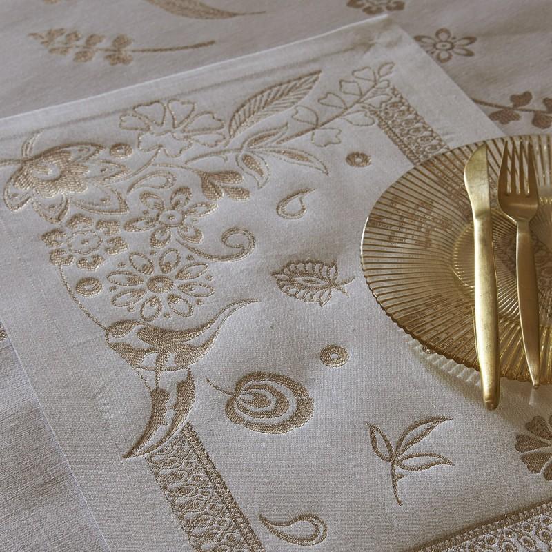 Lot de 2 sets de table Haute couture