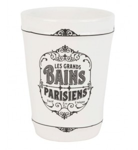 Gobelet Bains parisiens