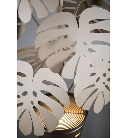 Lampe sur pied plante Monstera