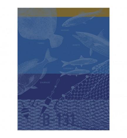 Torchon Pêche en mer matelot