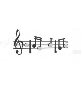 Patère Partition musicale